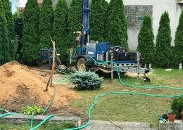 vrtná súprava na vŕtanie studní - Top Studne